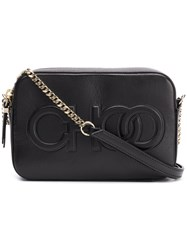 Jimmy Choo Balti Crossbody Bag Black