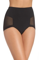 Le Mystere Women's Infinite High Waist Shaper Panties Black