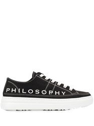 Philosophy Di Lorenzo Serafini Logo Print Low Top Sneakers 60