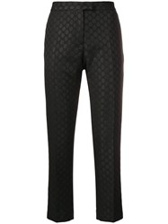 Paul Smith Ps By Jacquard Dot Trousers Black