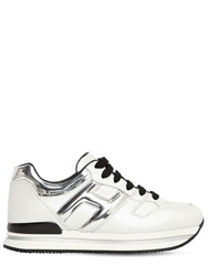 Hogan 45Mm H222 Leather Sneakers White