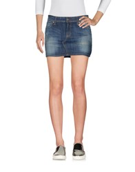 Ego E Go Denim Skirts Blue