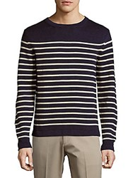 Ralph Lauren Striped Long Sleeve Pullover Denim