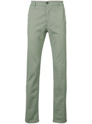 Ag Jeans Marshall Slim Trousers Green