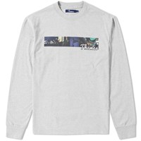 Thames Long Sleeve Piccadilly Tee Grey