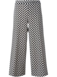 Michael Michael Kors Cropped Palazzo Pants Black