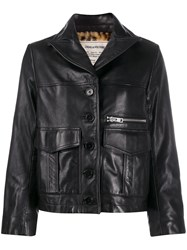 Zadig And Voltaire Lila Cuir Jacket Black