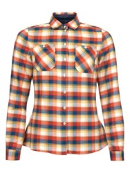 Barbour Chock Check Shirt Red Check