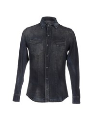 Daniele Alessandrini Denim Denim Shirts Men Blue