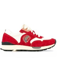 Visvim 'Roland Jogger' Sneakers Red