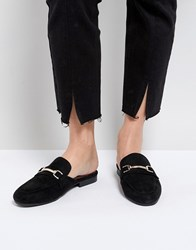 Miss Kg Nessie Mule Loafers Black