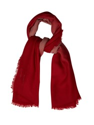 Bottega Veneta Degrade Wool Scarf Red