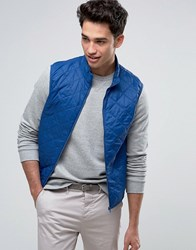 United Colors Of Benetton Quilted Gilet 07V Blue