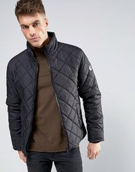 Blend Of America Padded Jacket Diamond Quilted 70155 Black