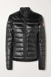 Canada Goose Hybridge Lite Quilted Ripstop Down Jacket Black