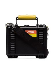 Heron Preston Black Acrylic Industrial Tool Bag
