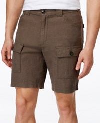 Tasso Elba Men's Utility Shorts Only At Macy's Dark Olive Combo