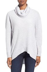 Women's Kinross Exposed Seam Cashmere Cowl Neck Sweater