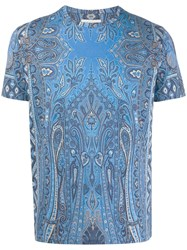 Etro Relaxed Fit Paisley T Shirt 60