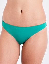 French Connection Classic Bikini Briefs Verdant Green