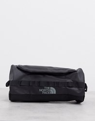 The North Face Base Camp Travel Cannister Large Wash Bag In Black