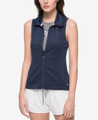 Tommy Hilfiger Sport Perforated Vest A Macy's Exclusive Midnight