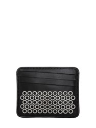 Maison Martin Margiela Eyelets Leather Card Holder