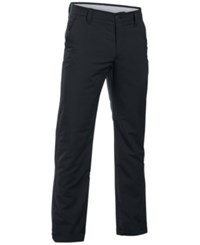 Under Armour Men's Match Play Straight Leg Golf Pants Black