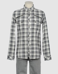 Bolongaro Trevor Long Sleeve Shirts Grey