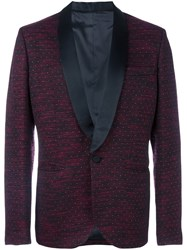 Christian Pellizzari Jacquard Dinner Jacket Red