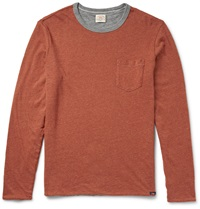 Faherty Reversible Cotton T Shirt Red