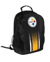 Forever Collectibles Pittsburgh Steelers Prime Time Backpack Black