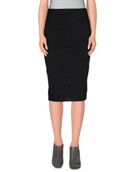 Angelo Marani Skirts Knee Length Skirts Women Black