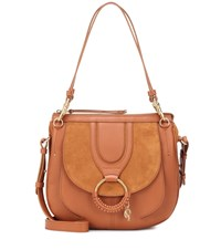 See By Chloe Hana Hobo Large Leather Shoulder Bag Brown