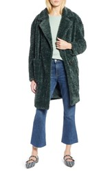 Halogen X Atlantic Pacific Faux Fur Coat Green Park