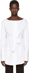 Protagonist White 09 Tunic Shirt