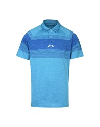Oakley Polo Shirts Azure