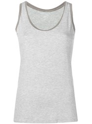 Majestic Filatures Sleeveless Tank Top Grey