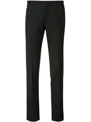Giambattista Valli Slim Fit Tailored Trousers Black