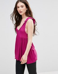 French Connection Lyndsey Sleeveless Swing Top Potent Pink