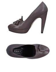 Anna F. Loafers Dove Grey