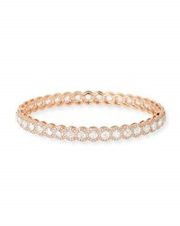 64 Facets Rose Cut Diamond Bangle In 18K Rose Gold