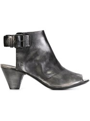 Marsell Marsell Cut Out Ankle Boots Grey