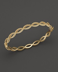 Roberto Coin 18K Yellow Gold Single Row Twisted Bangle Bloomingdale's Exclusive