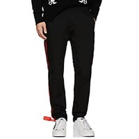 Ovadia And Sons Striped Cotton Twill Trousers Black