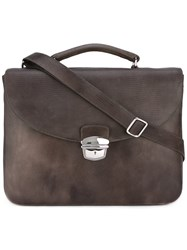 Orciani Tejus Briefcase Brown