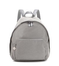 Stella Mccartney Falabella Shaggy Deer Small Backpack Grey