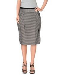 Odeeh Skirts Knee Length Skirts Women Black