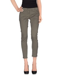 Silvian Heach Trousers Casual Trousers Women Military Green