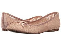 Adrianna Papell Sage Blush 1890 Lace Women's Flat Shoes Beige